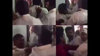 Watch: Polling booth vandalised by TDP workers in Andhra Pradesh