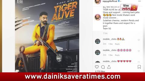 Tiger Alive Be Carefull Paplosss | Sippy Gill | New Punjabi Song | First Look | Dainik Savera