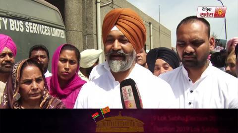 Video - Ludhiana की खस्ता हालत City Buses की आरती कर Akali Dal ने Congress के खिलाफ किया Protest