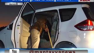 Aravalli: Police conducts checking on Shamlaji -Ratanpur Border | Mantavya News