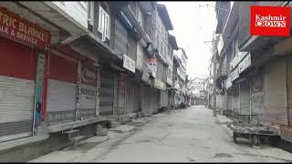 LS Polls: Shutdown in Kashmir
