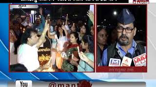 Surat:Ex-Armyman Rajesh Kumar Sharma pays tribute to CRPF jawans martyred in Pulwama attack