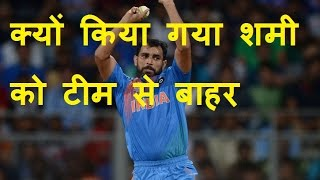 DB LIVE | 23 DEC 2016 | Mohammed Shami out of ODI series against England
