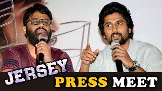 Jersey Movie Press Meet || Nani, Shraddha Srinath - 2019 Latest Movie Press Meet