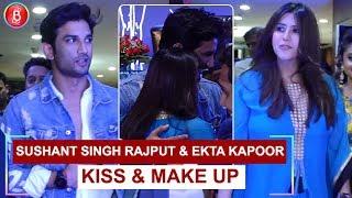 Sushant Singh Rajput & Ekta Kapoor Kiss & Make Up video - id 37149d977436c1  - Veblr Mobile