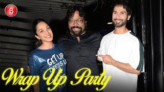 Kabir Singh: Shahid Kapoor and Kiara Advani attend the Wrap-Up party