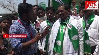 Mahasamar-2019 :: Padmanava Behera, BJD Candidate, Birmaharjpur