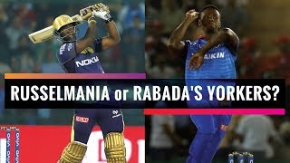 Indian T20 League 2019, Match 26: Rabada's wrecking ball or Russell's hammer?