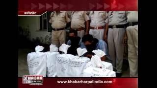 Faridkot Police ne 12 peti najayaj deshi sharab samet 2 nun kita kabu