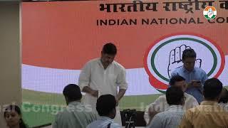AICC Press Briefing By Randeep Singh Surjewala at Congress HQ on Rafale Scam