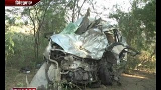 Dangerous Accident : 5 died in road accident in Muktsar