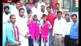 Moga : Warm Wel come to Bronze Medal winners students