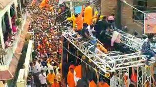 हैदराबाद में राजा सिंह द्वारा आयोजित विशाल श्रीरामनवमी शोभायात्रा में उमड़े लाखों जनसैलाब की एक झलक