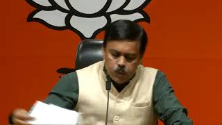Press Conference by BJP National Spokesperson Shri GVL Narasimha Rao