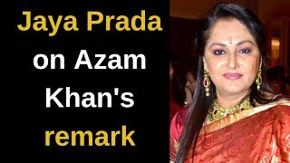 It isn't new for me, but he has crossed his limits this time: Jaya Prada on Azam Khan's remark