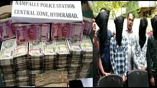 Police Bankar Ki 50 Lakh Ki Choori In Nampally | 5 Robbers Got Arrested | @ SACH NEWS |