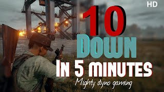 PUBG MOBILE || DYNO MIGHTY GAMING ||