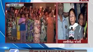 Ahmedabad: In Odhav, People organised a Candle March for soldiers martyred in Pulwama attack