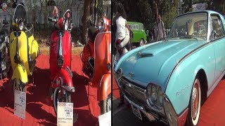 In the past lane: Classic cars, bikes put on vintage show in Panjim