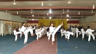 GUINNESS WORLD RECORDS OFFICIAL ATTEMPT FOR TAEKWONDO | @ SACH NEWS |