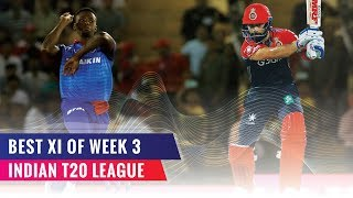 Indian T20 League 2019 | Best XI of the Third week | MS Dhoni to lead & keep wickets