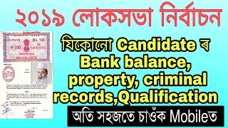 Baduruddin ajmal or Others ৰ full details চাওঁক মবাইলত like Bank Balance, Property, criminal records