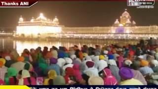 Deepawali & Bandi chhod Divas Celebrate At Shri Harimandir sahib Amritsar