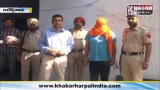 smuggler arrested With one kg of heroin and 80 thousand in cash,