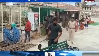 Security has been increased in Ambaji Temple | Mantavya News