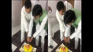 Tejashwi Yadav meets brother as Tej Pratap celebrates birthday