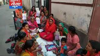 ડીસા-અચૂક મતદાન માટે મહિલા દ્વારા ઝુંબેશ