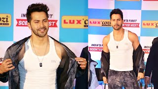 Varun Dhawan FIRST CLASS Pose At LUX COZI Event | KALANK