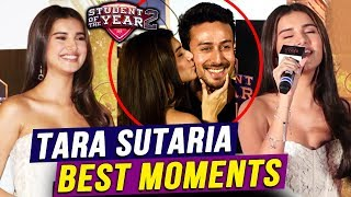 Tara Sutaria BEST MOMENTS From Student Of The Year 2 Trailer Launch