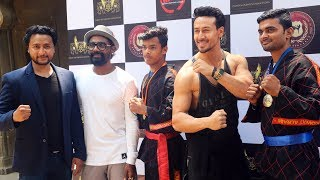 Tiger Shroff & Remo At An Indian Fighters Event | The Fighters Of Indian Kickboxing Association