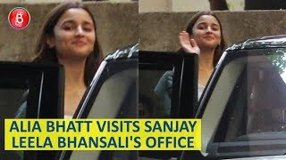 Alia Bhatt's PRIVATE Meeting With Sanjay Leela Bhansali