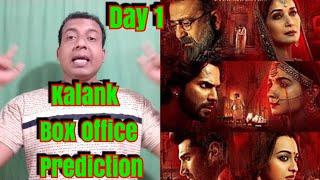 Kalank Box Office Prediction Day 1
