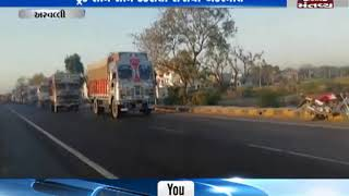 Aravalli: 1 dead, 1 injured in accident between 2 trucks   Mantavya News