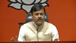 Press Conference by Shri GVL Narasimha Rao at BJP Head Office, New Delhi : 17.04.2019