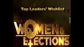Watch election wishlist: Why women leaders think politics needs more female representatives