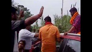 Watch: Kanhaiya Kumar faces protest during his roadshow in Begusarai