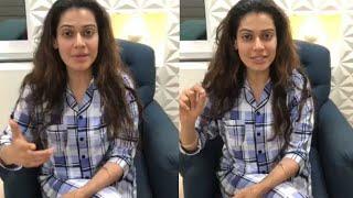 नवजोत सिंह सिद्धू द्वारा कांग्रेस को वोट करने की अपील करने पर अभिनेत्री पायल रोहतगी लाइव