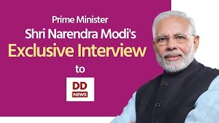 PM Shri Narendra Modi's exclusive interview with DD News