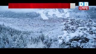 बर्फबारी और शीतलहर की चपेट में उत्तर भारत  | VAISHNO DEVI MANDIR के लिए HELICOPTER सेवाएं बंद |
