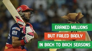 Five big money signings who failed in back-to-back Indian T20 League seasons