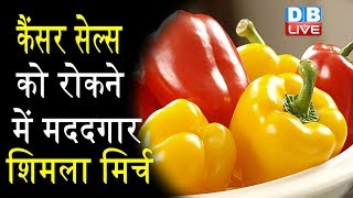 शिमला मिर्च के फायदे । Health and Beauty benefits of Capsicum Shimla Mirch | #HealthLive