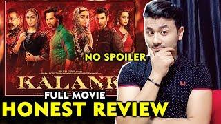 KALANK Movie   HONEST REVIEW   Varun Dhawan Alia Bhatt, Madhuri Dixit, Sonakshi Sinha
