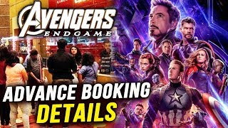 Avengers Endgame In India Advance Booking Details | Thanos Vs Super Heroes | Russo Brothers