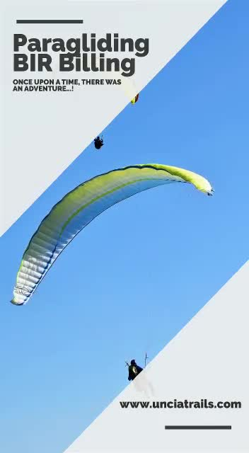 Join Uncia Trails for Paragliding Once upon a time there was an adventure!