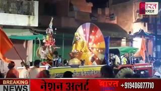 रामनवमी के अवसर पर श्री साईं बाबा की शोभायात्रा धूमधाम से निकाली गई |