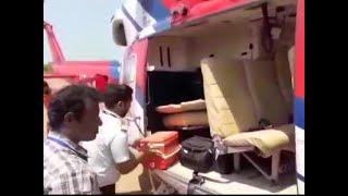ECsearches Karnataka CM Kumaraswamy's chopper, luggage again
